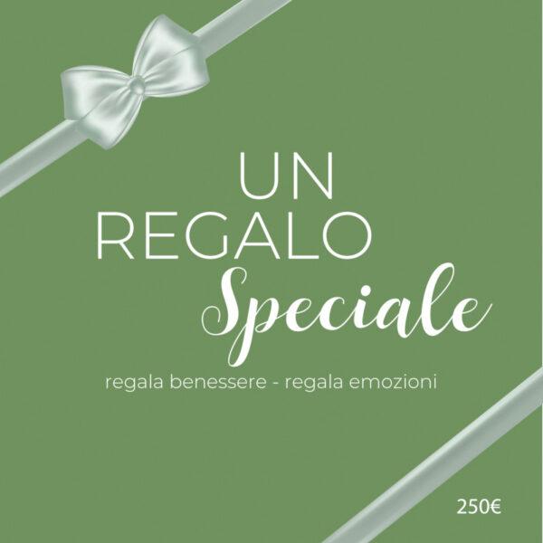 Buono Regalo Emerald da 250 Euro