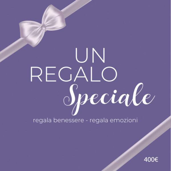 Buono Regalo Purple Sapphire da 400 euro