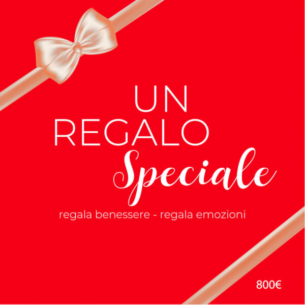 Buono Regalo Red Passion da 800 euro