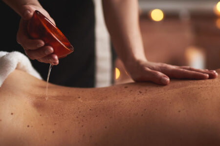Massaggio oil candle